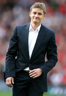 Barclays Premier League: Ole Gunnar Solskjaer , Manchester United - Sunderland