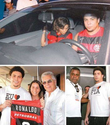Ronaldo with Flamengo