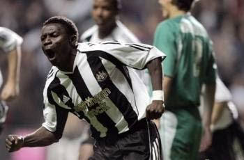 UEFA Cup Newcastle's Obafemi Martins