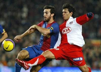 Oleguer - Aguero: Barcelona-Atletico de Madrid