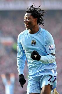 EPL: Benjani Mwaruwari, Manchester United - Manchester City