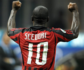 Clarence Seedorf .. No.10 shirt