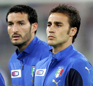 Fabio Cannavaro and Gianluca Zambrotta - Italy