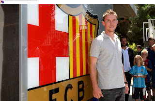 Hleb At Barca