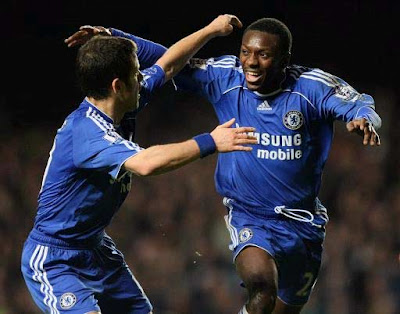 EPL: Shaun Wright-Phillips and Joe Cole , Chelsea - Tottenham Hotspur