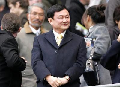 Thaksin Shinawatra - Manchester City