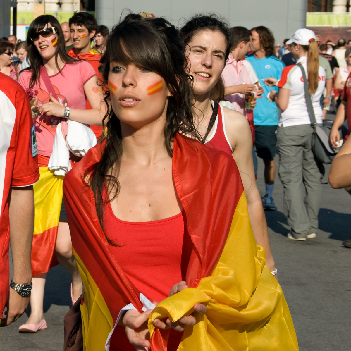 Pictures of spain girls