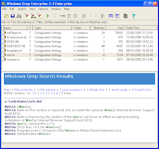 grep windows | yalanpara