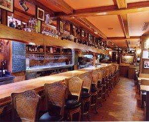Barcelona restaurant Botafumeiro inside