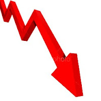 Down Arrow - Recession Sign