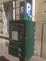 Parking Machine in Paris