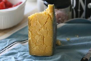 Old Cornish Yarg cheese