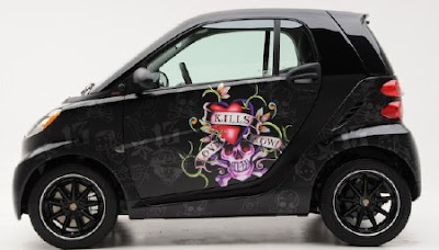 Smart Car Accessories Stickers
