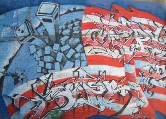 american flag graffiti - photo #30