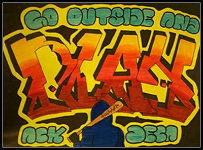 Art Graffiti Decoration: 3D Alphabet Fonts: Bubble Writing Creator