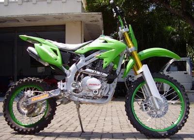Motorcycle S Style Green Trail Diablo X