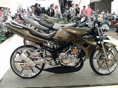 Modification kawasaki ninja 150R chrome full specification