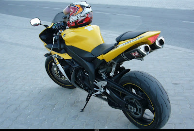 New Motorcycle Limited Edition: Yamaha R1 Motorcycle Yellow