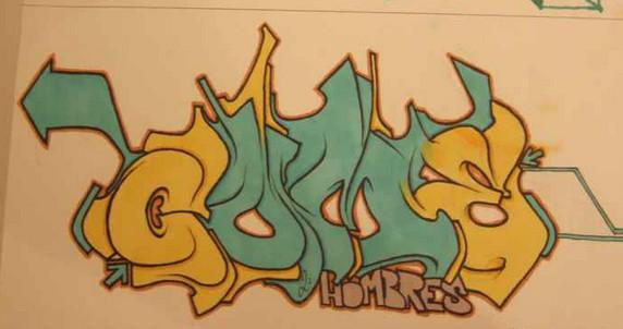graffiti amazon: Graffiti Sketches by Hombres