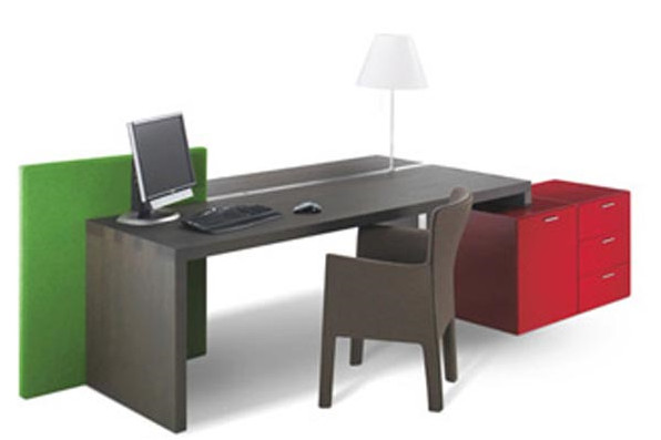 Office Desk Design is Simple and Modern Design ...