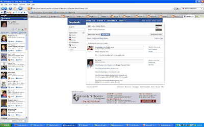Flock social web browser and Facebook