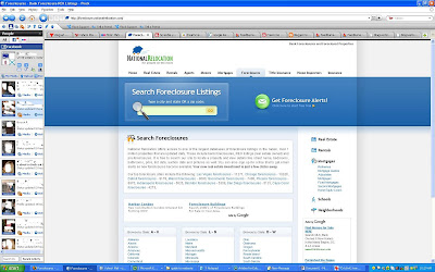 Facebook social browser window showing latest status of Facebook friends