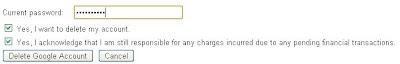 delete google account final step