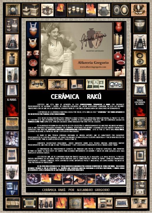 FOLLETO INSTITUCIONAL DE RAKU DE ALFARERÍA GREGORIO