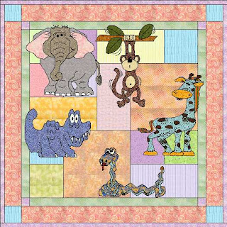 Free Jungle Animal Applique Patterns Appliq Patterns