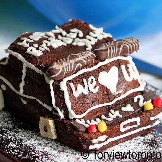 chocolate cake car shape