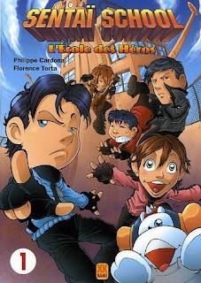 Jeu De Manga En Francais : manga, francais, Sentaï, School, Manga, Français, Déjanté, Fant'asie