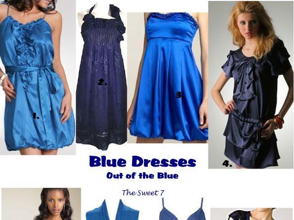 Some Kind Of Blue: Blue Dresses
