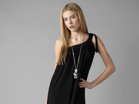 One Shoulder Lil' Black Dress