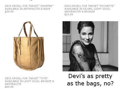 Devi Kroell for Target