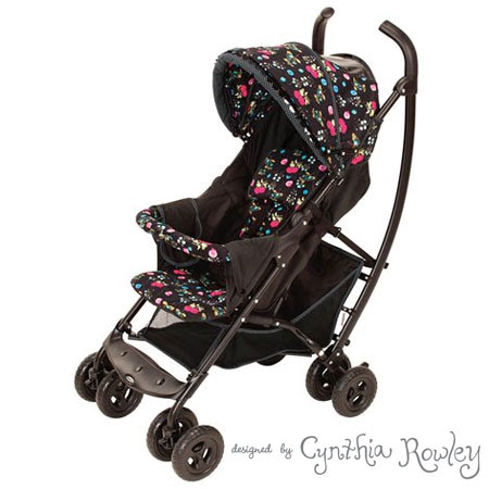 Designer Cynthia Rowley designs a baby stroller