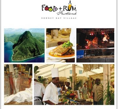 WIN tickets to the St.Lucia Food & Rum Festival