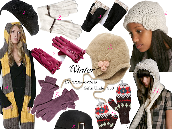 Gifts Under $50 - Winter Accessories