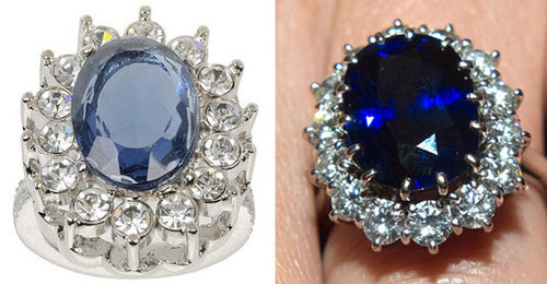 The Kate Middleton / Princess Diana Knock-off Engagement Ring