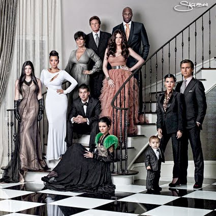 The Kardashian's Christmas Card