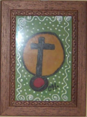 Cruz en verde