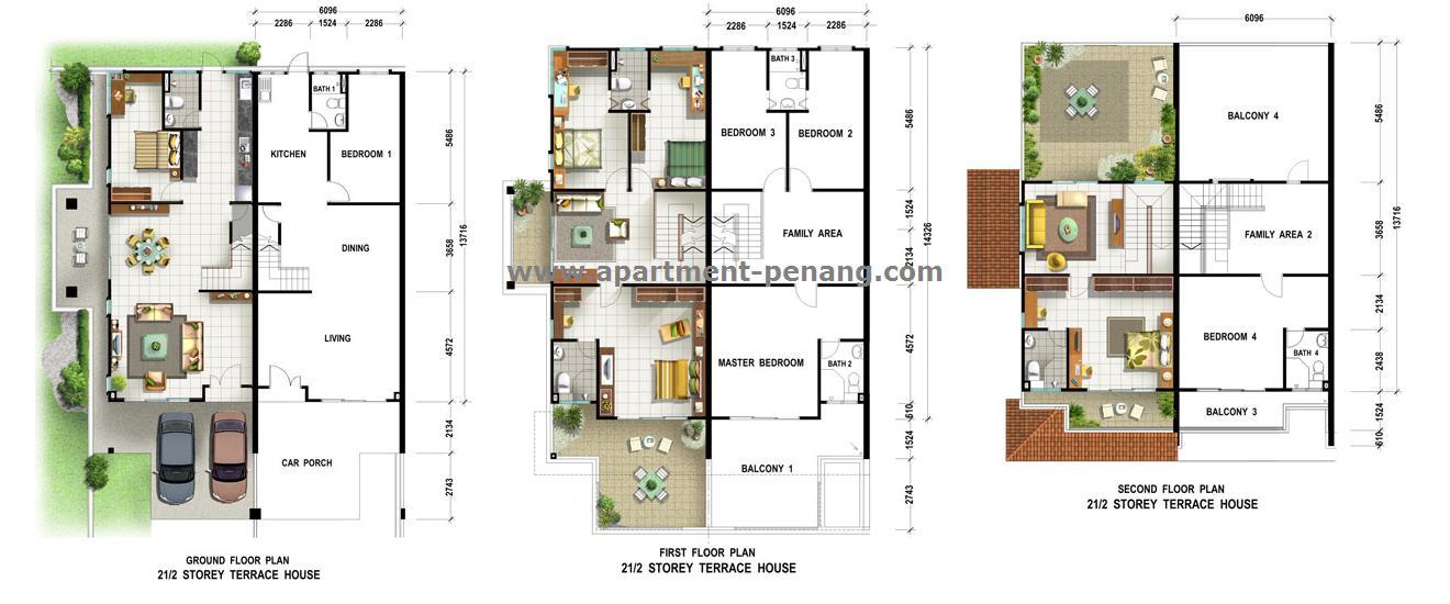Taman Manggis Indah Apartment Penang Com