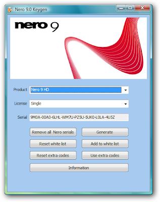 nero 9 keygen download