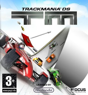 trackmania video game box
