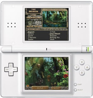 AMAZING ADVENTURES: THE FORGOTTEN RUINS nintendo ds showing screens from game