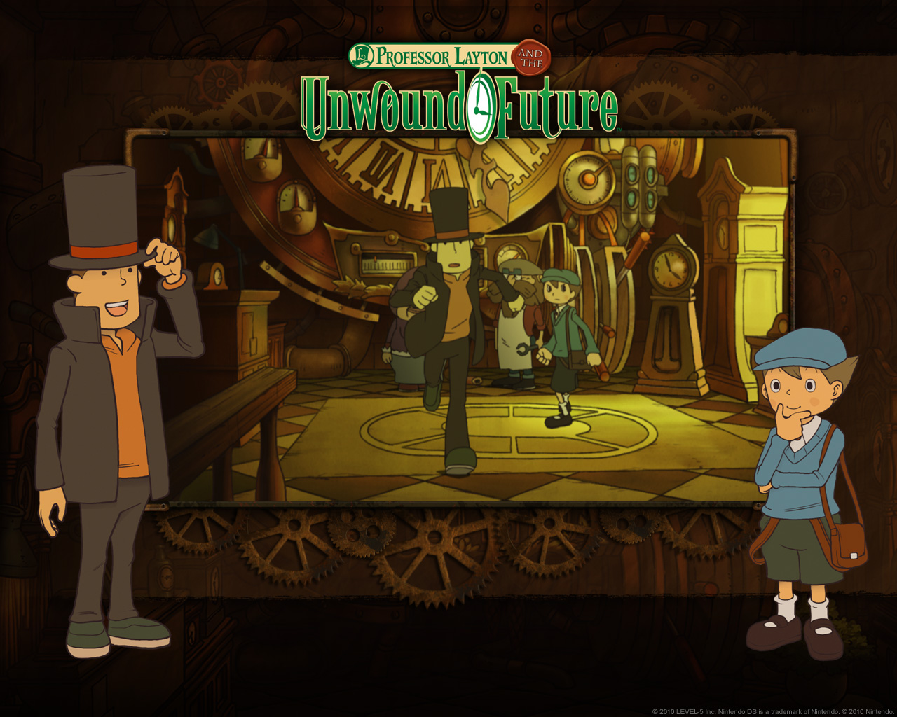 Video Games Free Professor Layton Unwound Future Video Game