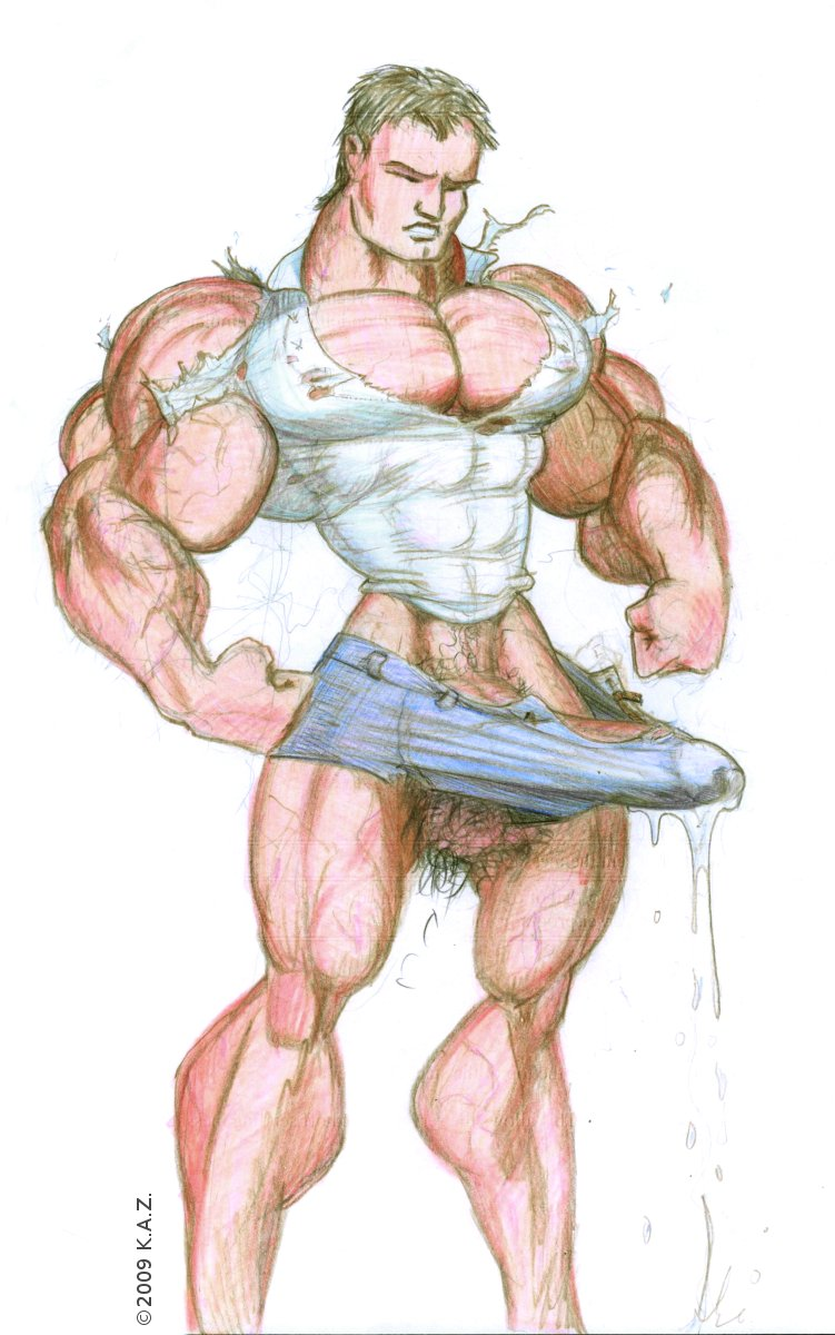 muscle hyper cock growth