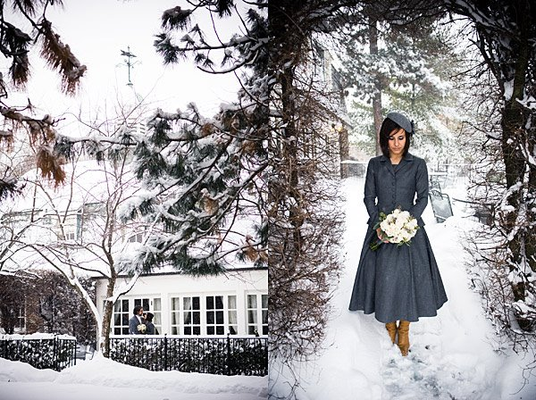 Little Winter Bride: Real Wedding Spotlight: Aleksandra