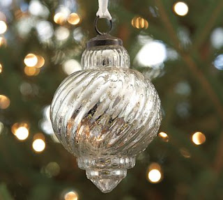 Handmade Mercury Glass Ornaments By Emily At Finding My