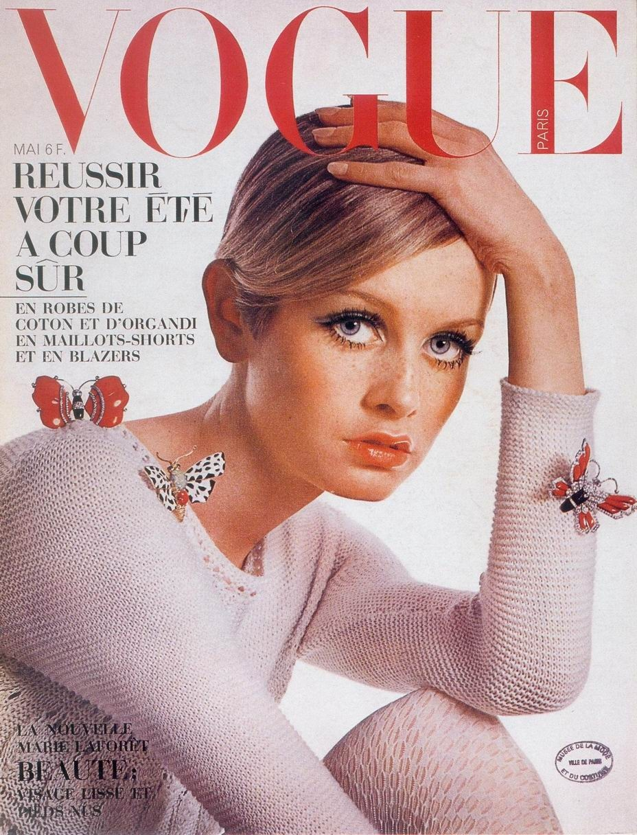 vogue covers twiggy magazine 1967 1960s 60s 1960 tribute vouge 1970s things miss supermodel role eye retro very moda