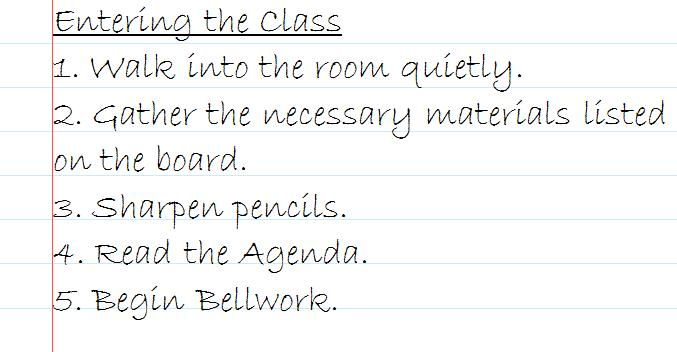 Classroom Procedures and the First Weeks of School The Religion - unit organizer routine template